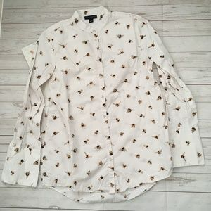 victoria beckham for target womens s bee printed b
